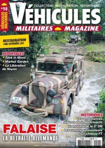 Couverture Véhicules militaires n°90 : Falaise la retraite allemande