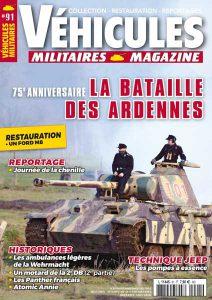 Couverture Véhicules militaires n°91 : 75e anniversaire de la Bataille des Ardennes